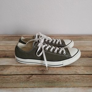 Converse All Star Chuck Taylor Olive Sneakers